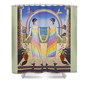 Gemini / Iris And Arke Shower Curtain