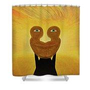 Gemini. Self-portrait Shower Curtain