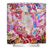 Gemini Woman Shower Curtain