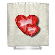 Gemstone - 6 Shower Curtain