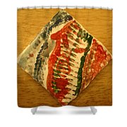 Gena - Tile Shower Curtain