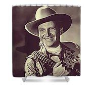 Gene Autry, Vintage Actor/singer Shower Curtain