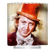 Gene Wilder, Vintage Actor Shower Curtain