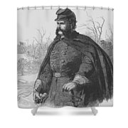 General Ambrose Burnside Shower Curtain