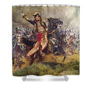 General Antoine-charles-louis Lasalle Shower Curtain