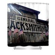 General Blacksmithing Shower Curtain