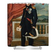 General Etienne  Maurice Gerard Jacques  Louis David  1816 Shower Curtain