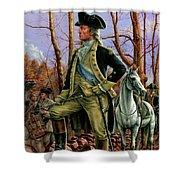 General George Washington Shower Curtain