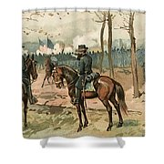 General Grant, Battle Of Shiloh, 1862 Shower Curtain