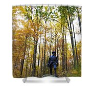 General In The Colors Shower Curtain