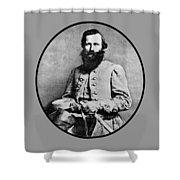 General Jeb Stuart Shower Curtain