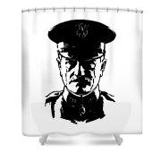 General John Pershing Shower Curtain