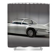 General Motors Firebird II Shower Curtain