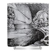 General Peckerwood In Purgatory Shower Curtain