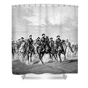 General Sherman At Savannah Shower Curtain