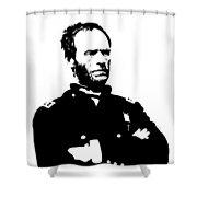 General Sherman Shower Curtain