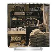 General Store, 1936 Shower Curtain