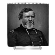 General Thomas Shower Curtain by War Is Hell Store