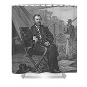 General U.s. Grant Shower Curtain