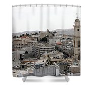 General View Of Bethlehem 2009 Shower Curtain