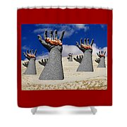 Generation Of Hope Shower Curtain