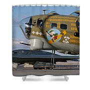 Generations B-17 And B-2 Shower Curtain