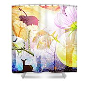 Genesis Collage Shower Curtain
