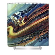 Genesis Of Decay Urban Abstract Shower Curtain