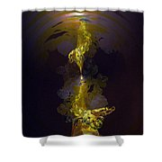 Genesis One Six Shower Curtain