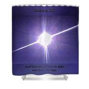 Genesis Sun Burst Shower Curtain