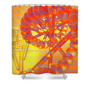 Genetic Research Shower Curtain
