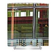 Geneva Airport 4 Shower Curtain