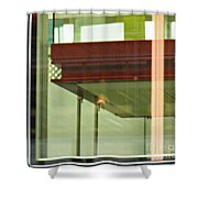 Geneva Airport 5 Shower Curtain