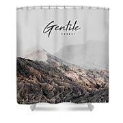 Gentile Shop Shower Curtain