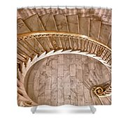 Gentle Curves Shower Curtain