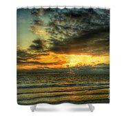 Gentle Dawn Shower Curtain
