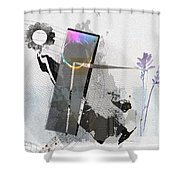 Gentle In The Face Of Beauty Shower Curtain