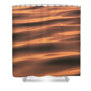 Gentle Morning Waves Shower Curtain