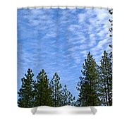 Gentle Sky Shower Curtain