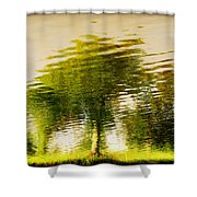 Gentle Sun  Shower Curtain