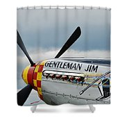Gentleman Jim Shower Curtain