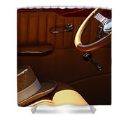 Gentleman's Hat Shower Curtain