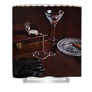 Gentleman's Pause Shower Curtain