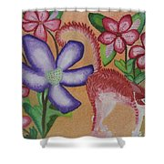 Gentleness, On My Mind, Forever On My Mind Shower Curtain