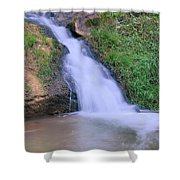 Gently Flowing Shower Curtain