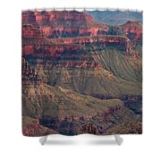 Geological Formations North Rim Grand Canyon National Park Arizona Shower Curtain