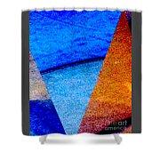 Geometric 2b  Abstract Shower Curtain