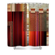 Geometric-7 Shower Curtain