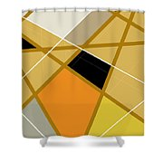 Geometric Abstract 1 Shower Curtain