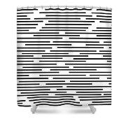 Geometric Art 276 Shower Curtain